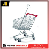 High Quality hand Supermarket Shopping trolley cart
