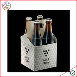 High Quality Cardboard Wine Carriers