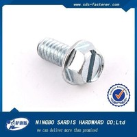 Ningbo Sadis Grade 8.8s Metric Hexagon Flange Bolts M24 Dimensions,Flange head bolt