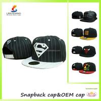 2015 New Fashion S Superman Hip-hop baseball adjustable cycling caps and hats, snapback sports cap