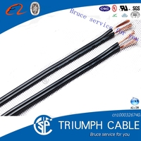 UL SPT-3 18 awg 2 core cable 2 pin flat ribbon cable