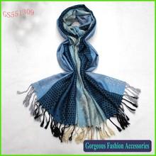 Classical design woven spot scarf pashmina