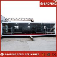 Qualified steel structure house barges for sale
