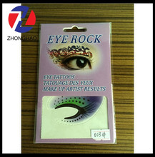 2015 New Arrived non toxic safe eco-friendly various design eyebrow stickers