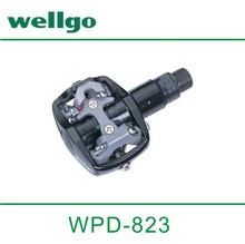 Wellgo Cr-Mo Spindle Mountain Clipless Bicycle Pedal WPD-823