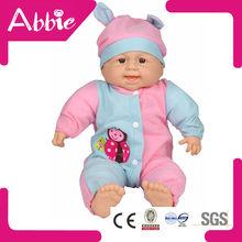 18 polegada de pelúcia Lifelike boneca cheia de Silicone renascer Baby Doll