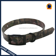 Hot Selling Camouflage Belt Buckle Adjustable Dog Collar and Leash