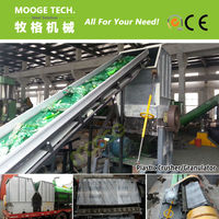 With SIEMENS Motor PE PP Plastic Film Crusher With CE