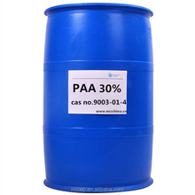 30% PAA dispersant for water treatment or textile treatment cas no. 9003-01-4