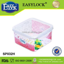 Airtight eco friendly refrigerator safe plastic food container wholesale