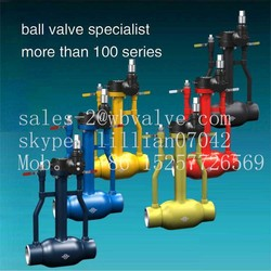 Underground Fully Welded Ball Valve long stem ball valve
