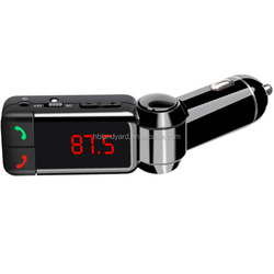 Double USB bluetooth car mp3 player fm transmitter