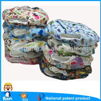 Machine Washable and Dryable Baby Nappies,Soft and Breathable Fabric Baby cloth Diapers