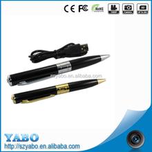 high quality picture mini pen camera video record pen audio 720*480/1280*960