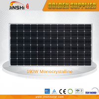 High Efficiency Professional Made 190w Monocrystalline Swimming Pool Solar Panels For Sale