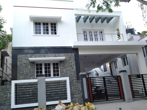 Front Elevation Tiles In Chennai : Stone cladding cheap beige rusty black slate