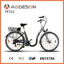 motor/electric life /Fashion style electric Best quality 700c city electric bicycle TF712 with popular design