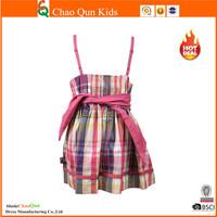 2015 New design christmas girls dress clothes set wholesale children's boutique clothing