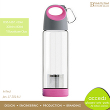 Business / Kids / Sports Used Colorful Glass Portable Tea Bottle