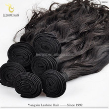 Natural Color Best Price Good Feedback Virgin Unprocessed Remy brazilian hair weave ponytail
