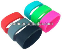 12colors available Sports pocket Wrist band silicone bracelet
