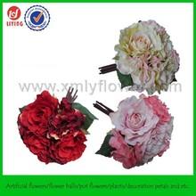 """11"""" Imitation Bundle Flower,Artificial Wedding Flower Table Centerpieces,Muti Colored Bouquet"""