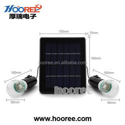 SL-40 Polysilicon Solar Panel Light 6V/3W Outdoor Solar Light Aluminum Led Light Bulbs
