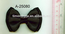 Fashion satin ribbon bow for garments or hair ornaments