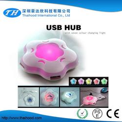 best price top grade portable slim 2.0 mini 4 port usb hub