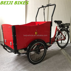 Dutch bike cargo use family bicycles china 3 wheel motor tricycle
