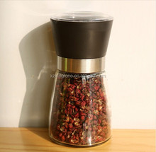 2015 New Products Promote Black Ceramic Core Pepper and Salt Grinders Mini Spice Mill For A Enjoyable Kitchen Life