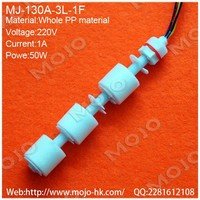 MJ-130A-3L-1F water tank solution groove judgment to higher plastic float liquid level switch