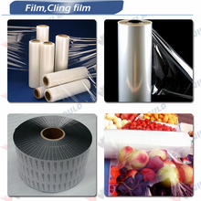 LLDPE Stretch Film for Manual and Machine extrusion t-dies