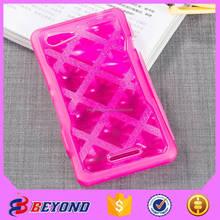 Best Selling tpu diamond flip cellphone case for sony E3
