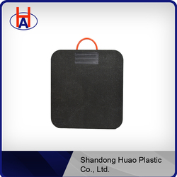 UHMWPE patterned outrigger pad/Nylon Rop ,Rubber Sleeve