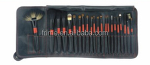 makeup brushes set with professional cosmetic bag