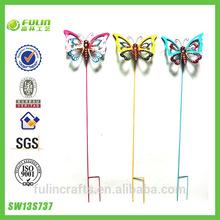 cueva de diseño de la mariposa decorativa jardín estaca