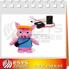singing pig speaking pig Talent plush pig toy