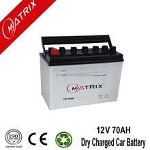 plastic car battery cover 12v 70ah