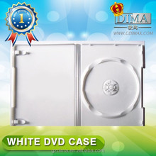 wholesale white color dvd case stock lot for sale