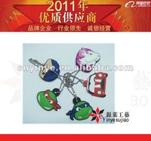 Fashionable Cartoon Pvc Key Cover for Promotion