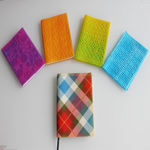Whoesale new design hot sale waterproof book cover / silicone book cover / notebook cover
