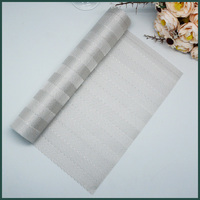 Top Quality White Satin Table Runner