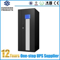 60Kva Low Frequency Online UPS Types Front Office Equipment