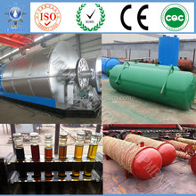 XD-10T tire recycling steel rubber nylon convert waste tire to crude oil carbon black with high output