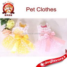 2015 Playful pet dog clothes tutu dress wholesale