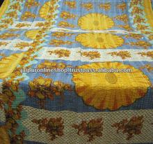 Life Touch Handmade Thread Work Vintage Quilt