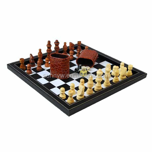 Classic leather chess board game Where can i buy a chess game
