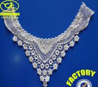 designer high quality fancy ladies kurta design lace neck collar