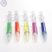 Medical syringe shape ball pen for promotion / syringe shape ball pen